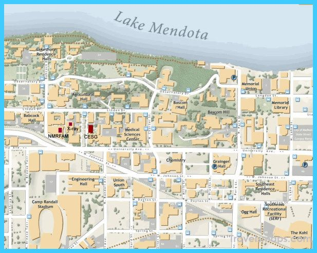 cool Map of Madison Wisconsin Travelsmaps Pinterest