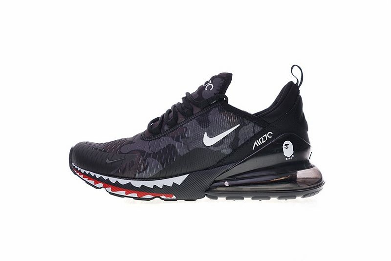 competitive price 78a63 37ed7 Really Cheap A Bathing APE x Nike Air Max 270 Japanese Camo Bape Camo Black  Grey AH6799 012 For Sale