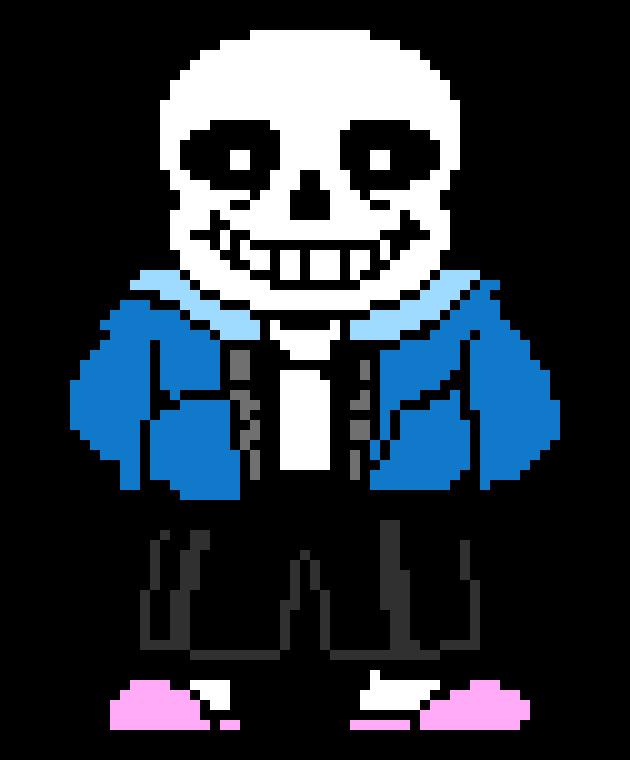 Sans Sprite Undertale Pixel Art Pixel Art Pixel Art Maker