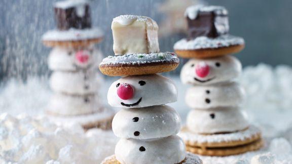 Rezept: Keks-Schneemänner bauen