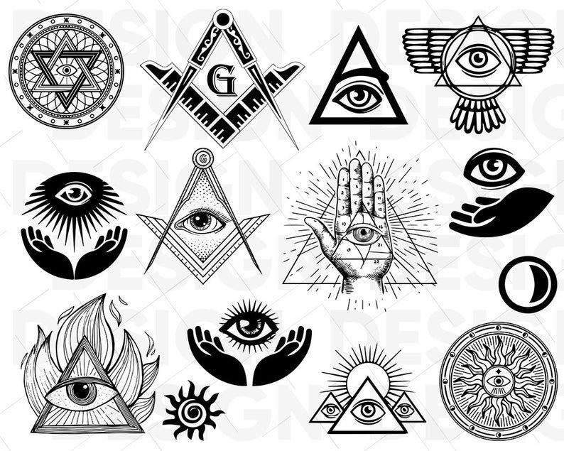 Masonic svg Freemason svg illuminati freemason masonic | Etsy