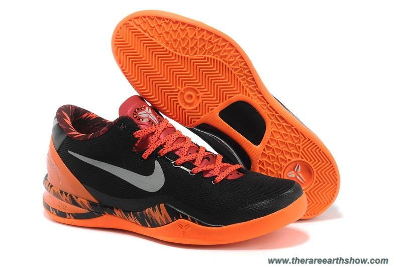 info for 05b39 31af2 Cheap Nike Kobe 8 PP Black Blaze Orange Grey
