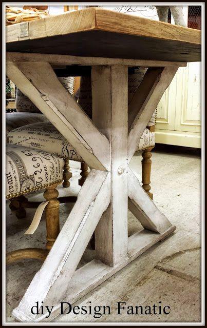 Farmhouse Table Legs Plans Pictures