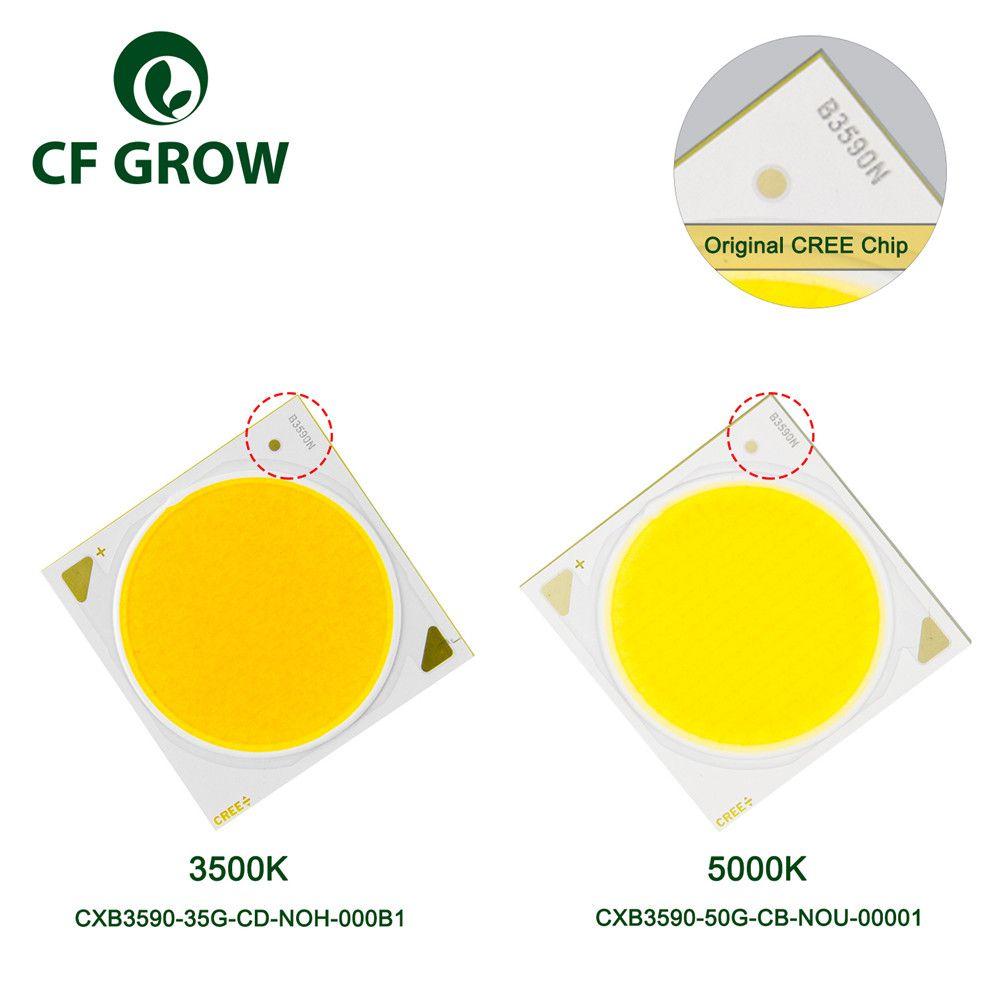 CF Grow LED Grow Light CREE COB CXB3590 3500K 5000K