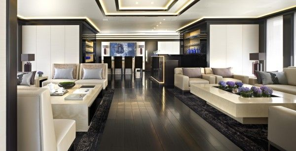 modern yacht interior | interiors | Pinterest | Interiors and Modern