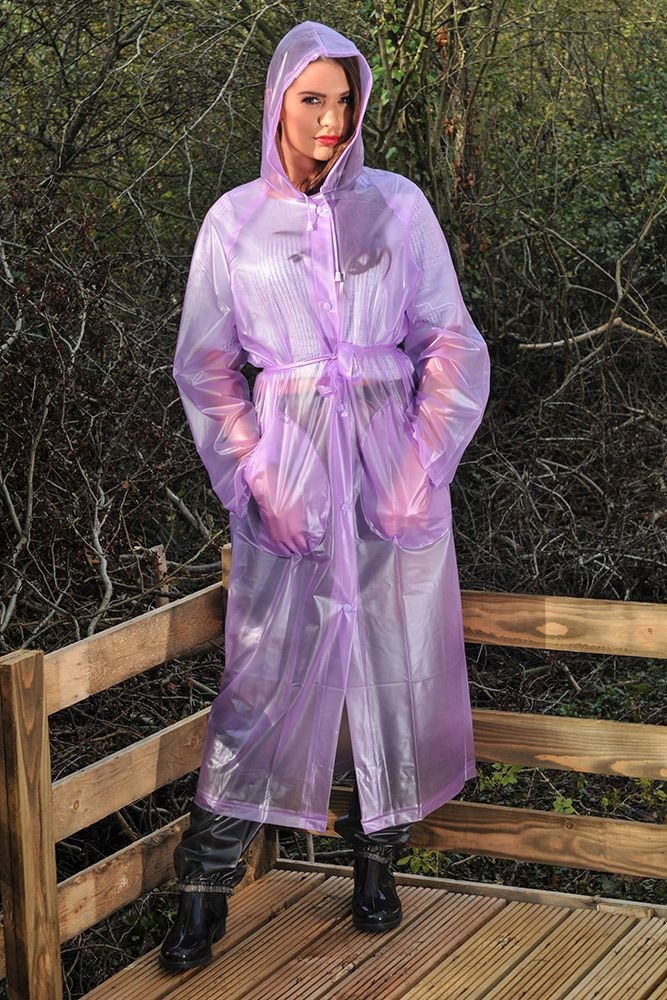 pvc plastic vinyl rainwear fetish videos