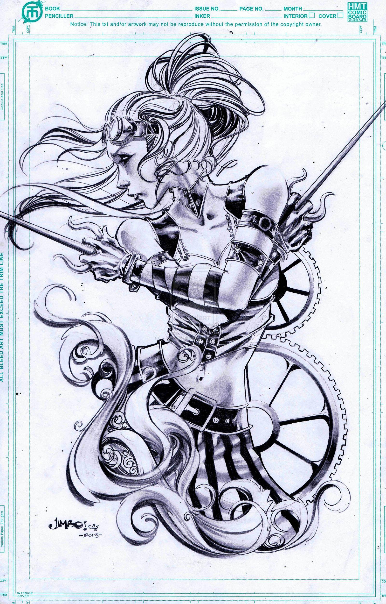 Steampunk Elektra By Jimbo02salgado On Deviantart