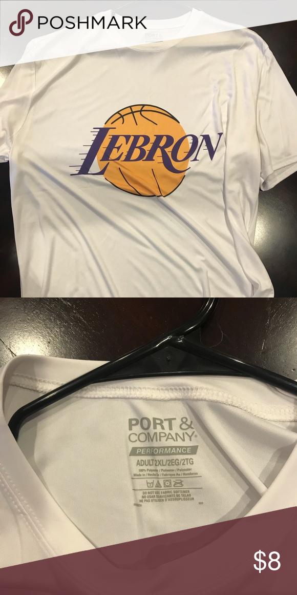 best service 04a43 ed86b Lebron Lakers shirt from amazon, nylon Lebron Lakers shirt ...