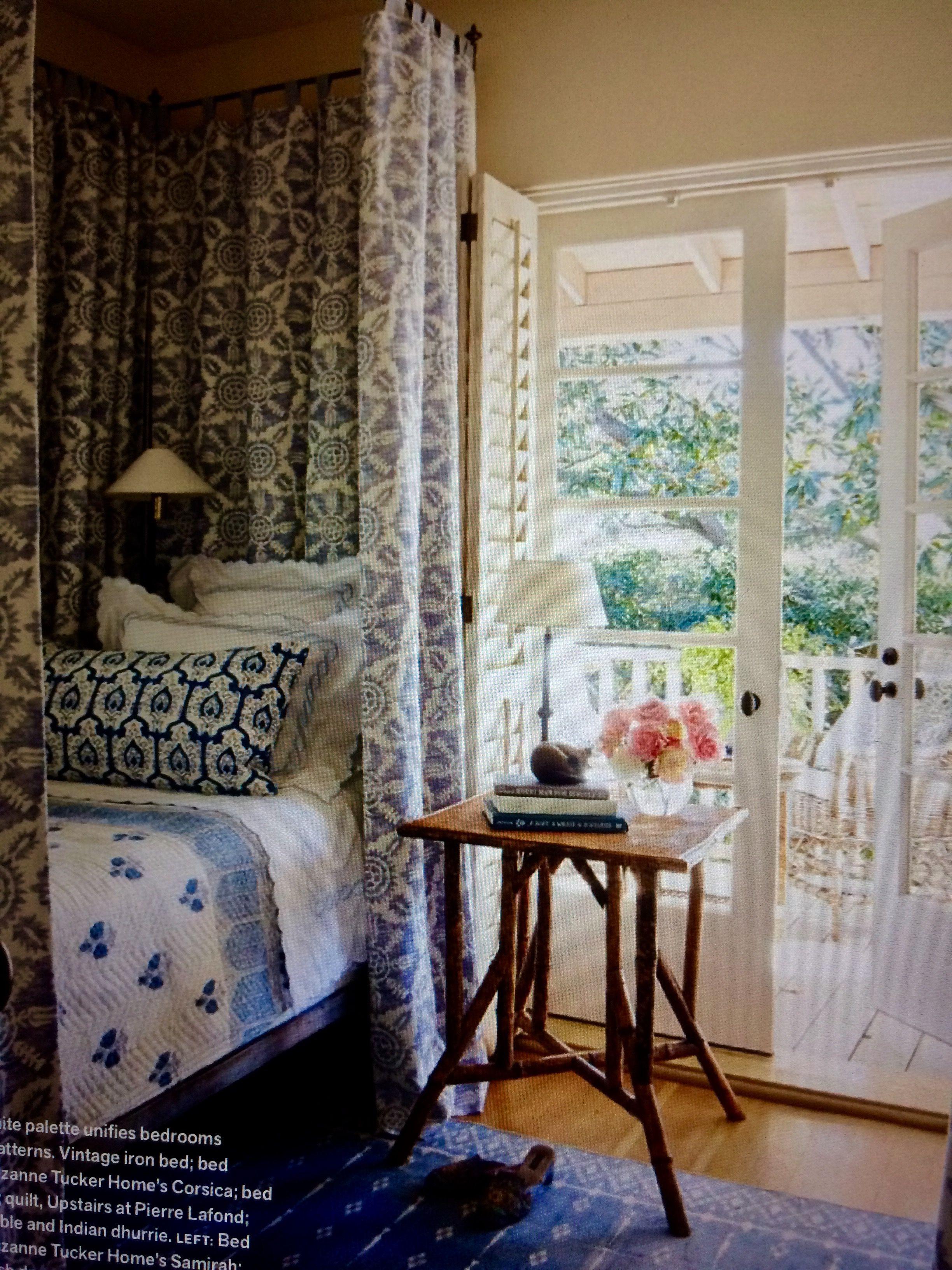 Victoria Magazine Home, Bedroom design, Guest bedrooms