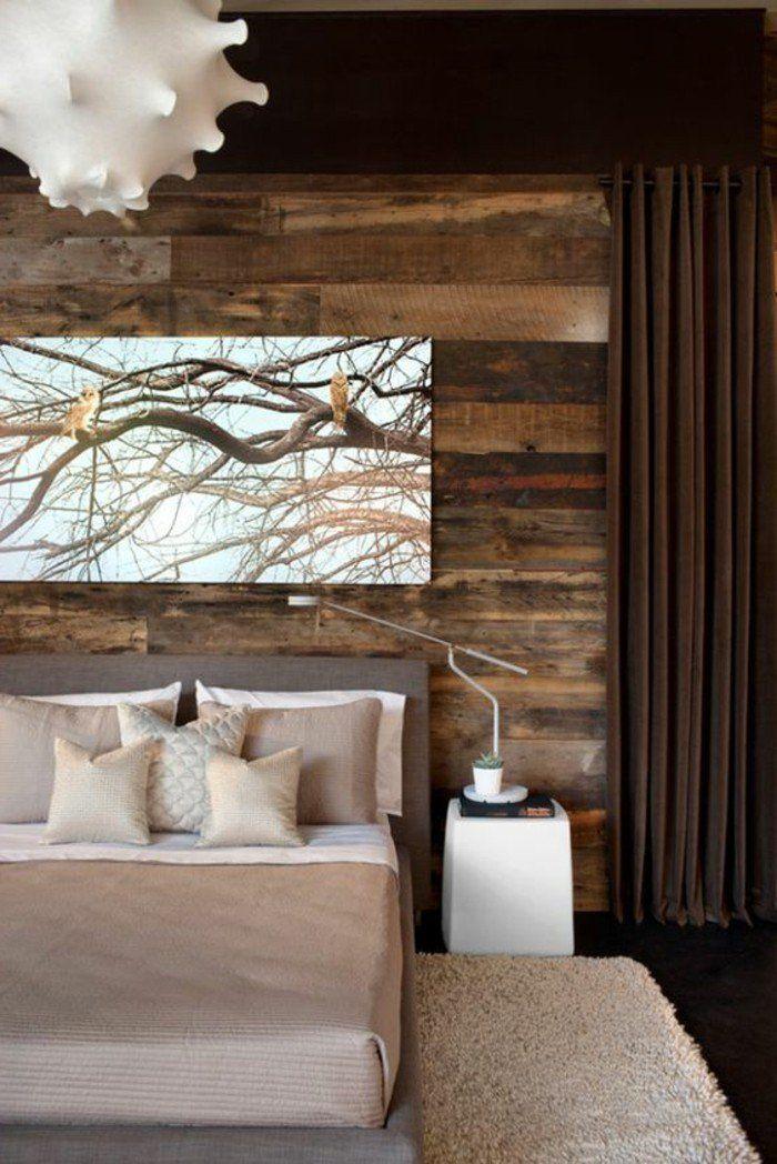 Id es chambre coucher design en 54 images sur archzine for Chambre a coucher rustique