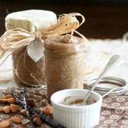 Making this Vanilla Almond Hazelnut Butter is so easy! Plus, it's so good, you'll want to eat it by the spoonful ...