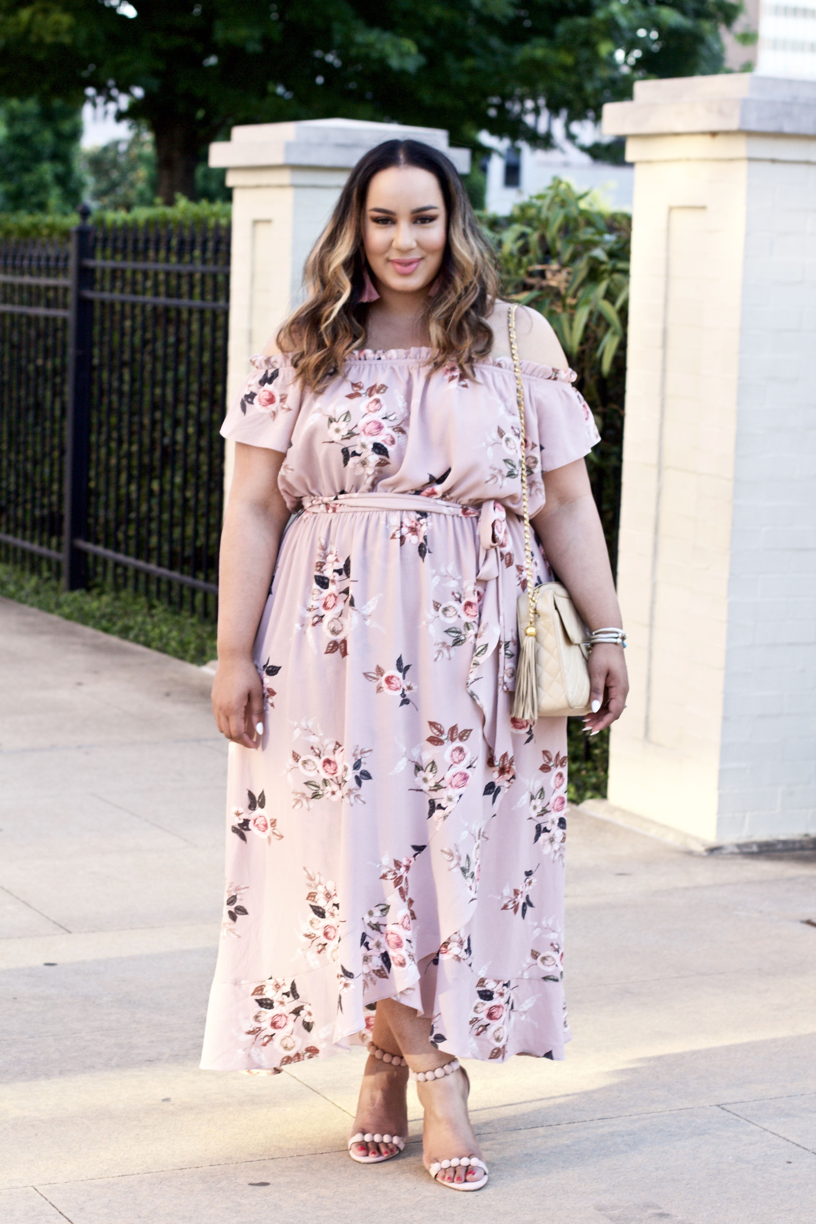 Spring Summer Dresses With Macy S X City Chic Beauticurve Plus Size Fashion Maxi Dress Plus Size Outfits [ 5184 x 3456 Pixel ]