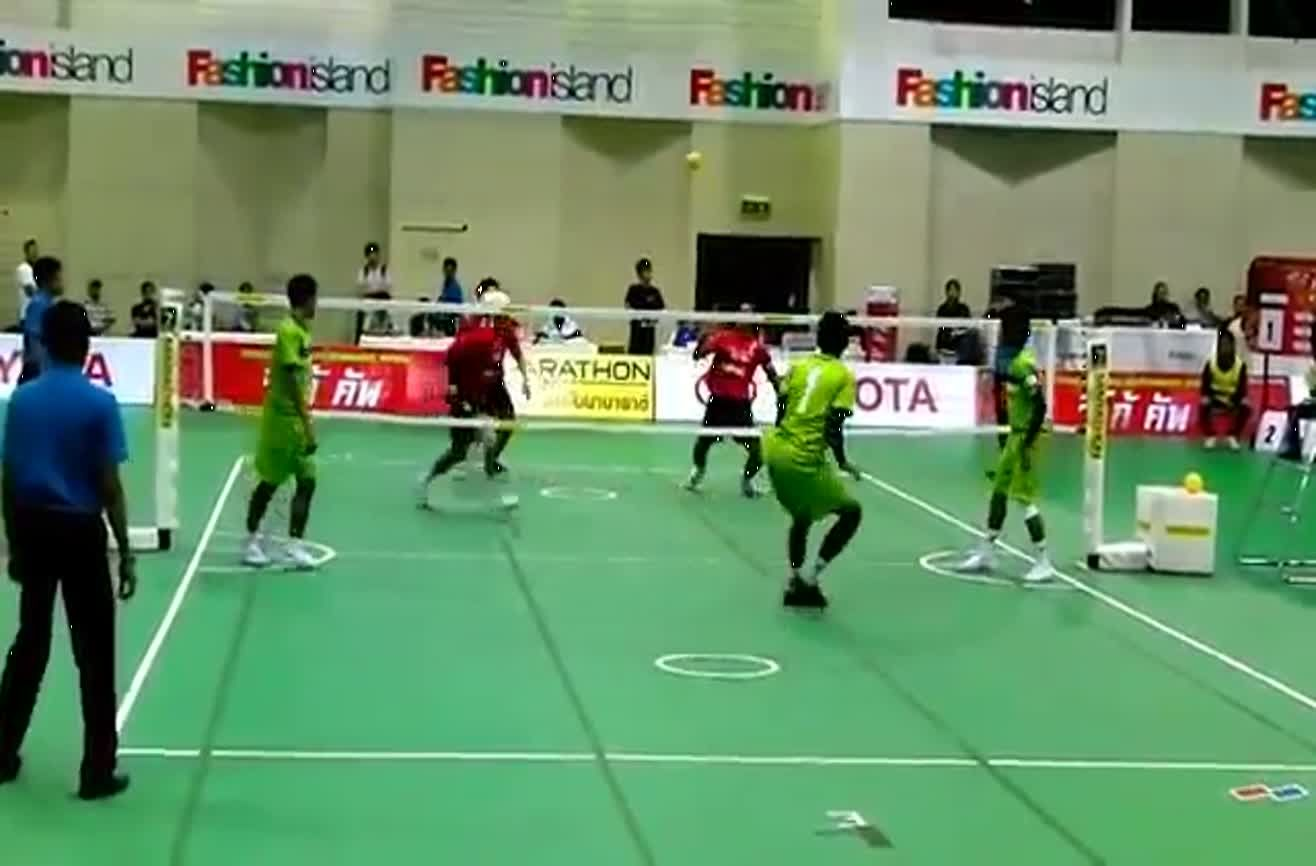This Is What Happens When You Combine Kung Fu Soccer And Volleyball Soccer Volleyball What Happens When You