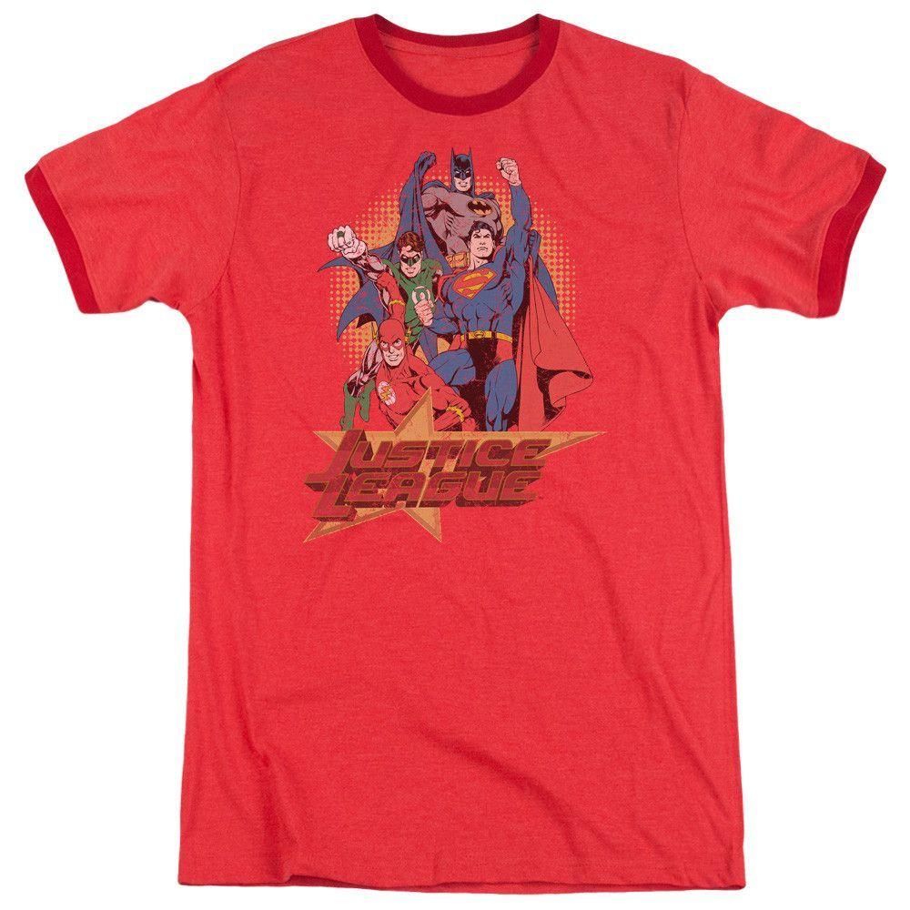 Shirt S Break Free Adult Ringer T Sons of Gotham Superman