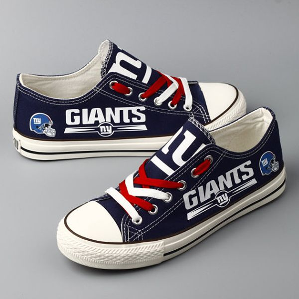 9ee6efc3baa New York Giants Converse Style Shoes - http   cutesportsfan.com new