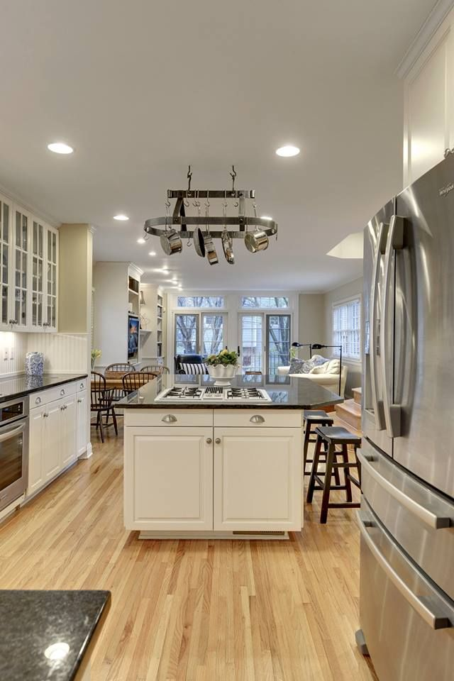 High end kitchen finishes including granite counter tops ...