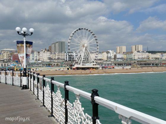 Reisverslag stedentrip Brighton England map Travel report and