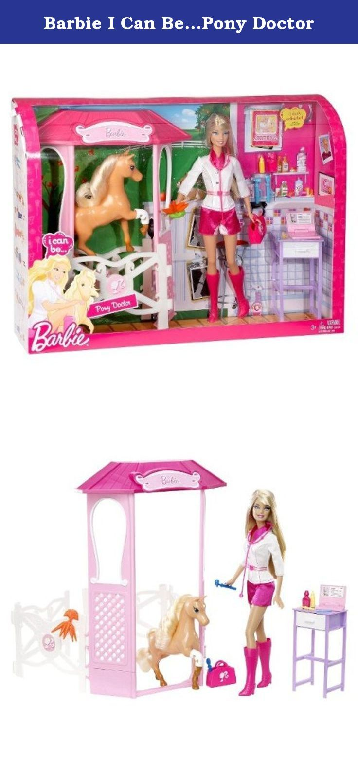 Barbie I Can Be Pony Doctor Barbie I Can Be A Pony Doctor