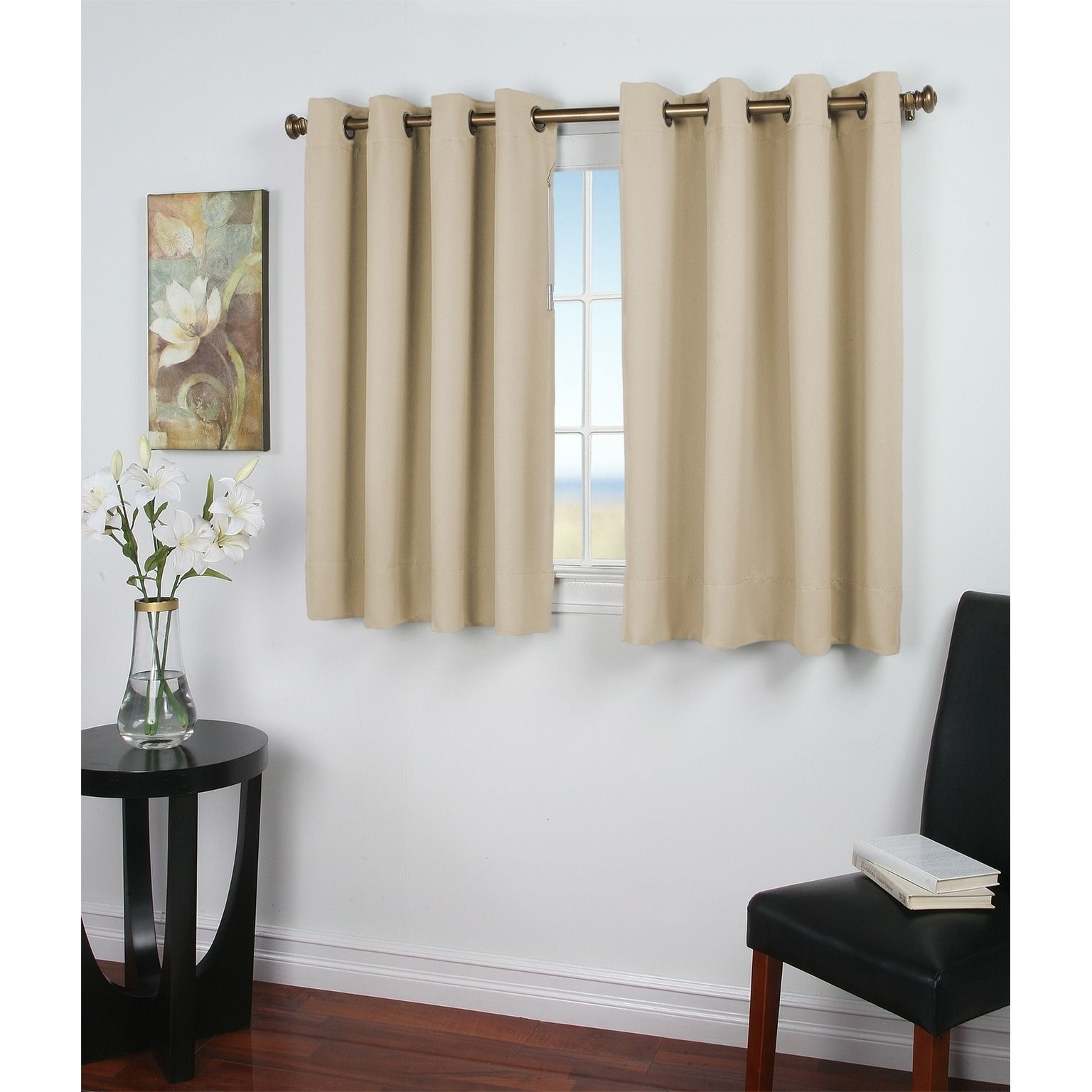 Ricardo Ultimate Blackout 54 Inch Wide 36 Length Grommet Panel Ivory Size Inches