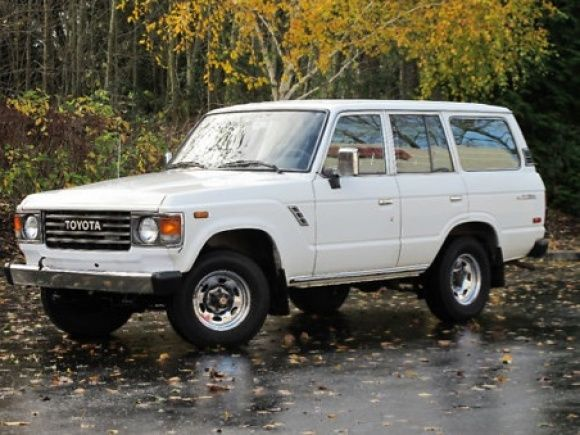 Exceptional 1988 Toyota Land Cruiser FJ62. This, With A Roof Rack And Ladder    Christmas 2012 Please.