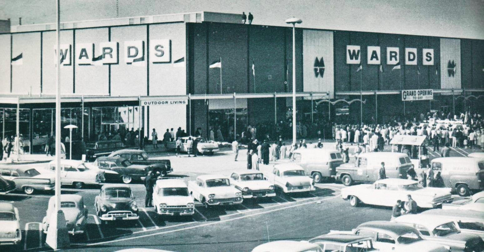 1960s Montgomery Wards Wonderland Mall Livonia Michigan