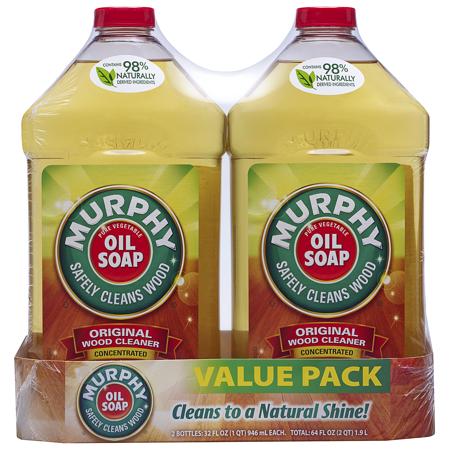 Murphy Oil Soap Wood Cleaner Original 32 Fluid Ounce 2 Count Walmart Com Murphys Oil Soaps Wood Cleaner Murphy Oil Soap