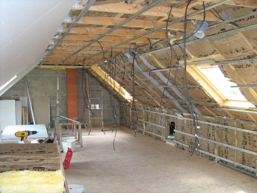 Amenagement De Combles Seigneury Et Fils In 2020 Barn Conversion Interiors Attic Rooms Building A House
