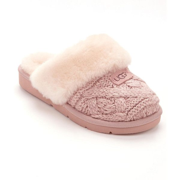 UGG Cozy Cable Knit Slippers ($120