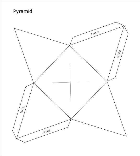 Pyramid Template | 12 Pyramid Box Templates Mockups Free Premium Templates