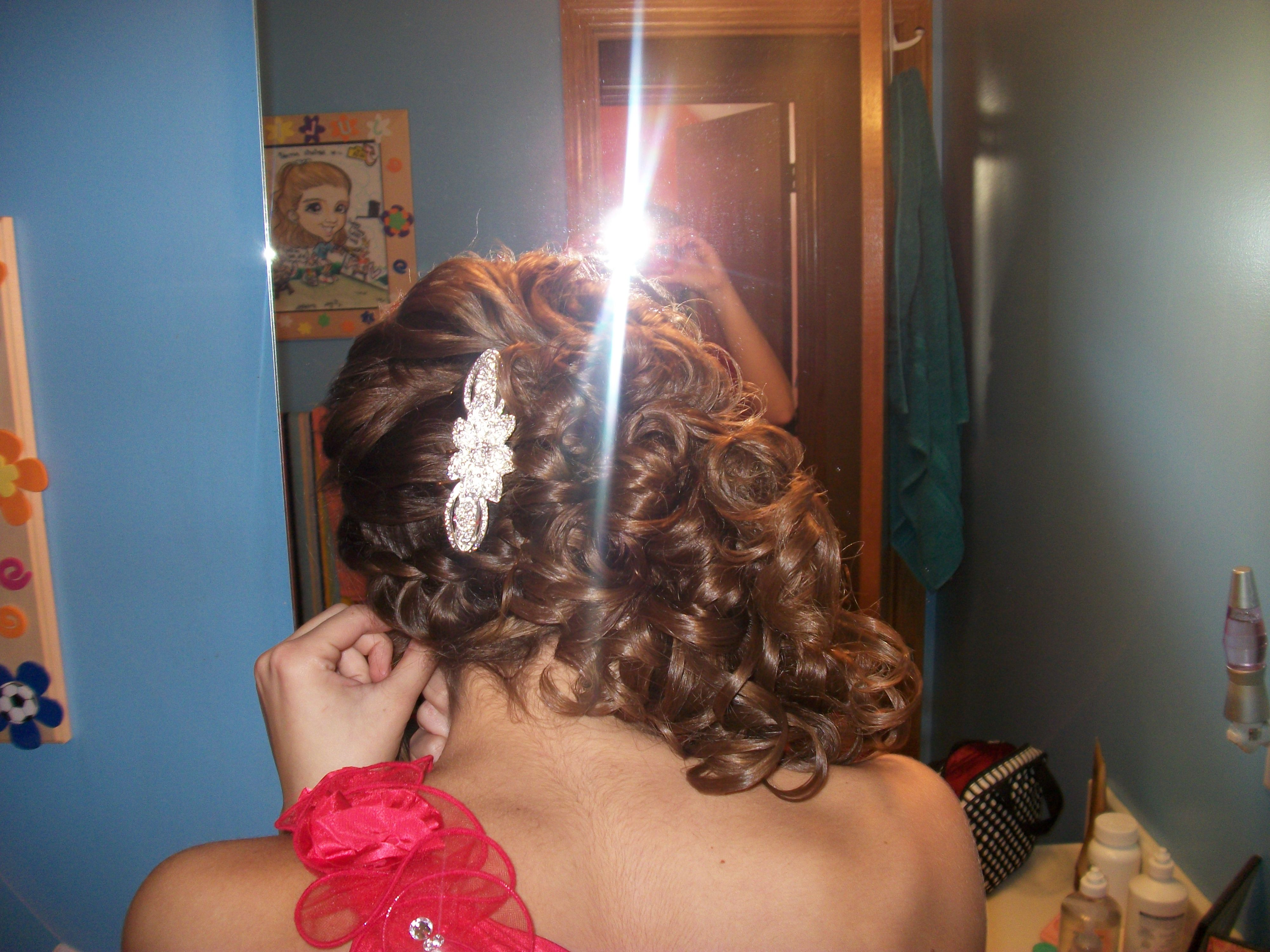 Just a little fancy homecoming hair :)
