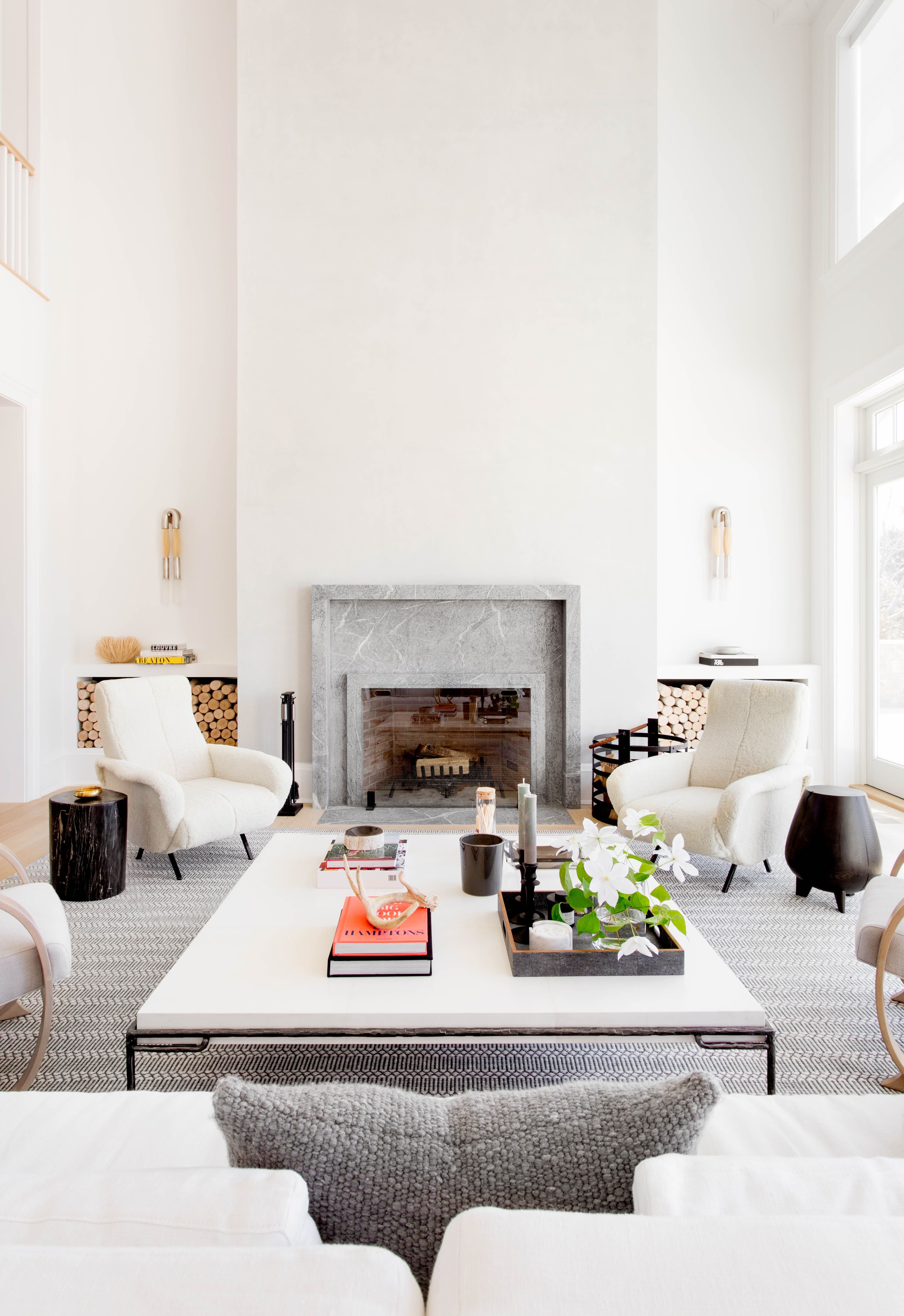Hamptons Living Room By Tamara Magel - Photo By Rikki