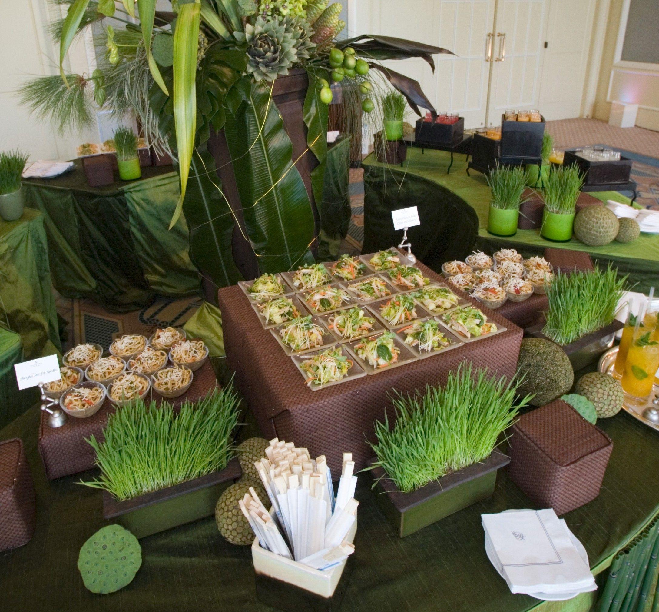 Wedding Reception Food Station Ideas: No Buffet Creative Interacitve Food Stations Small