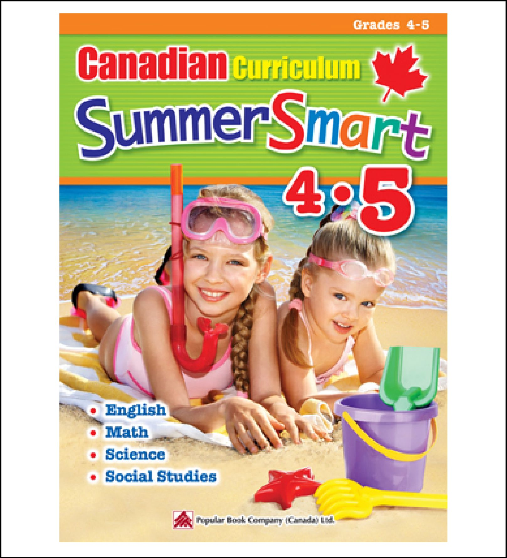 Summer Workbook For Kids Canadian Curriculum Summersmart