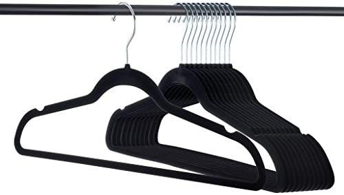 Best New Home It Premium Velvet Hangers Heavy Duty Clothes Hook 400 x 300