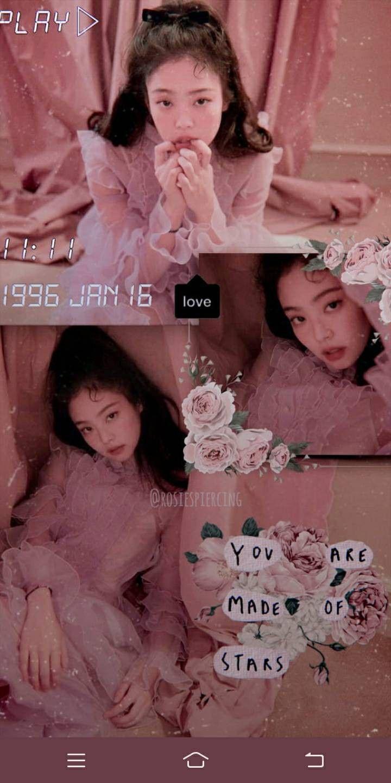 Aesthetic Korean Girl Wallpaper
