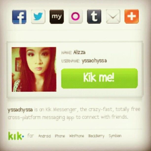 Little girl kik usernames