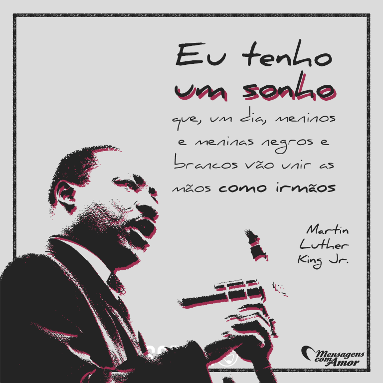 Martin Luther King Famosos Personalidades Pinterest Frases