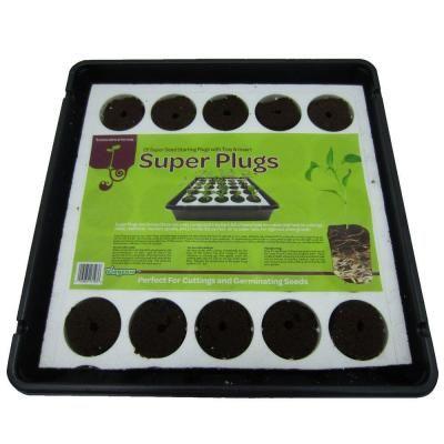 viagrow super plugs starter kit organic seed starter plugs