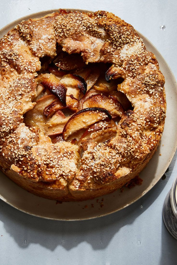 DeepDish Honey Apple Galette Recipe Recipes, Apple