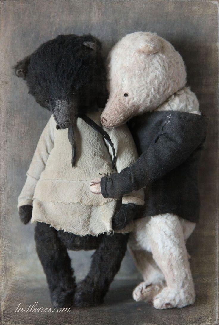 umla: (via (74) Lost Bears | dolls | Pinterest) | Teddy Bears ...