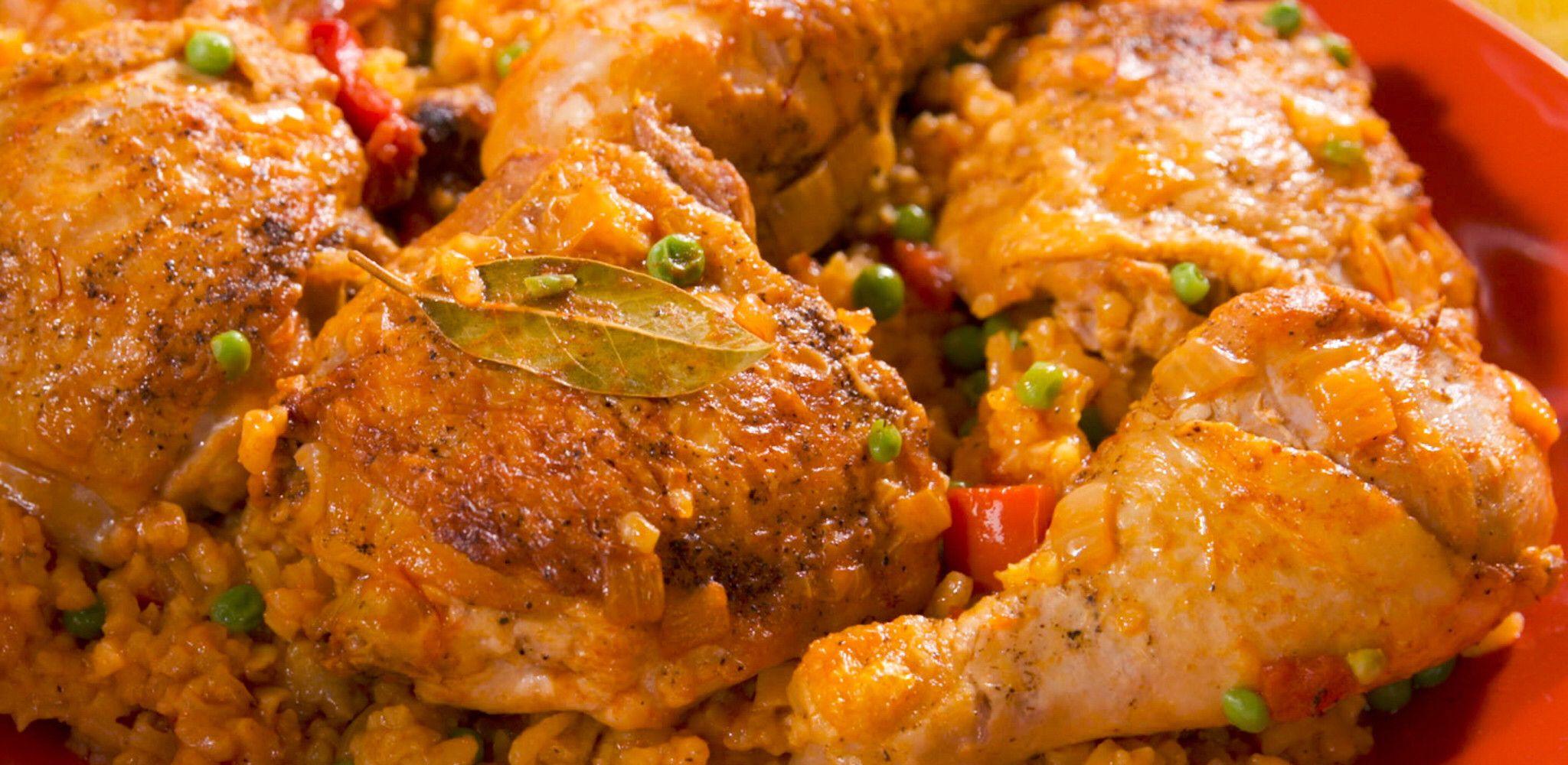 Arroz con Pollo (Rice with Chicken) Recipe Food