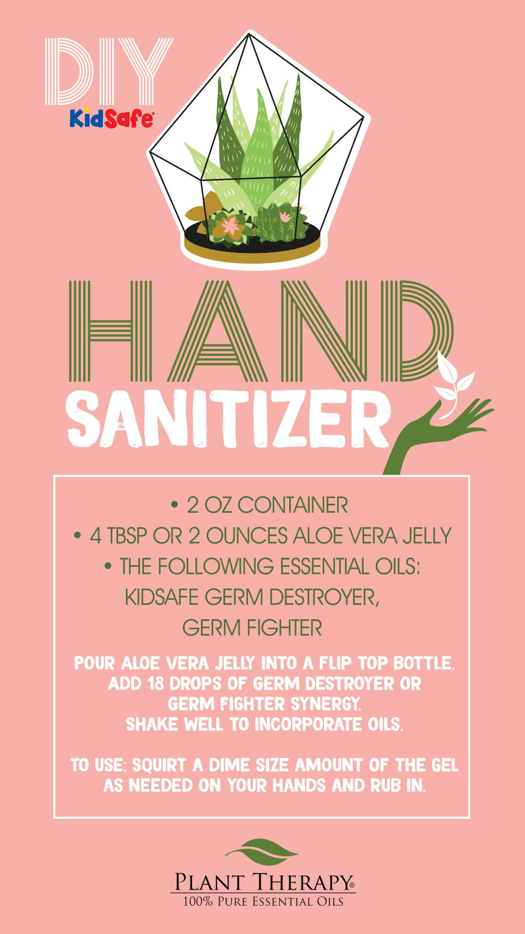 Diy Essential Oil Hand Sanitizer Plant Therapy Essential Oils