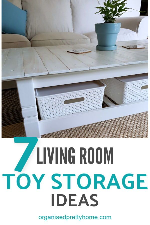 Living Room Toy Storage Ideas Organised Pretty Home Living Room Toy Storage Kids Toy Organization Family Friendly Living Room #toys #in #the #living #room