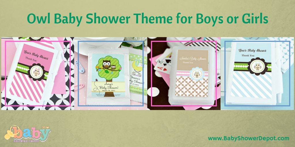 Multiple Designs Available For An Owl Baby Shower Theme. Favors,  Invitations And Games.
