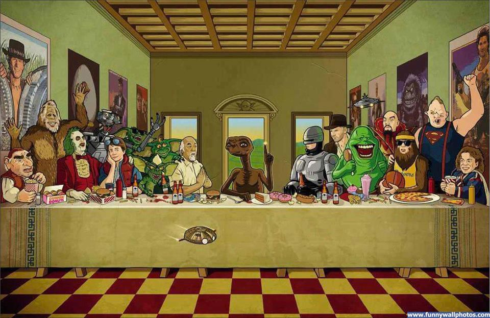 Pin by Dennis Gleissl on Funny Funny art, Last supper