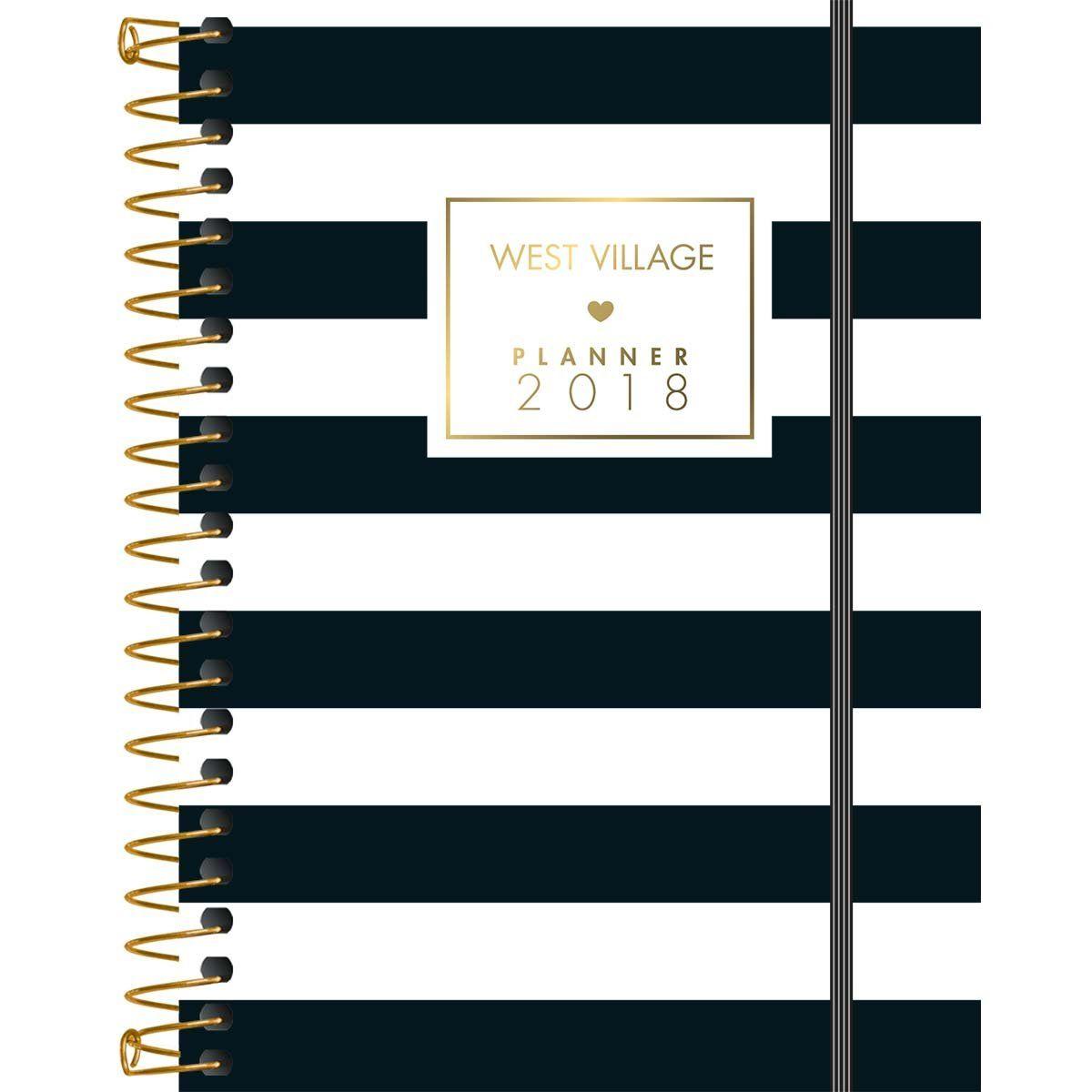 Planner West Village Planner Espiral West Village 2018 R 21 90
