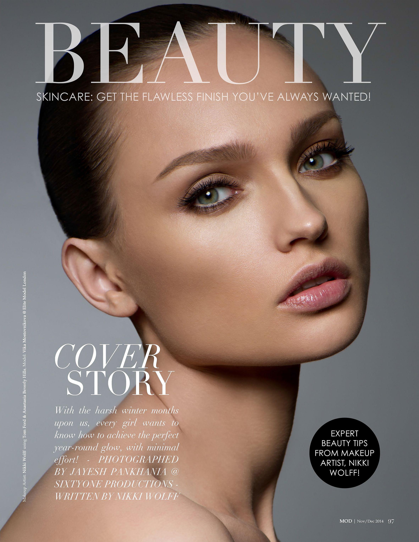 Nikki Makeup Cover Story for MOD Magazine