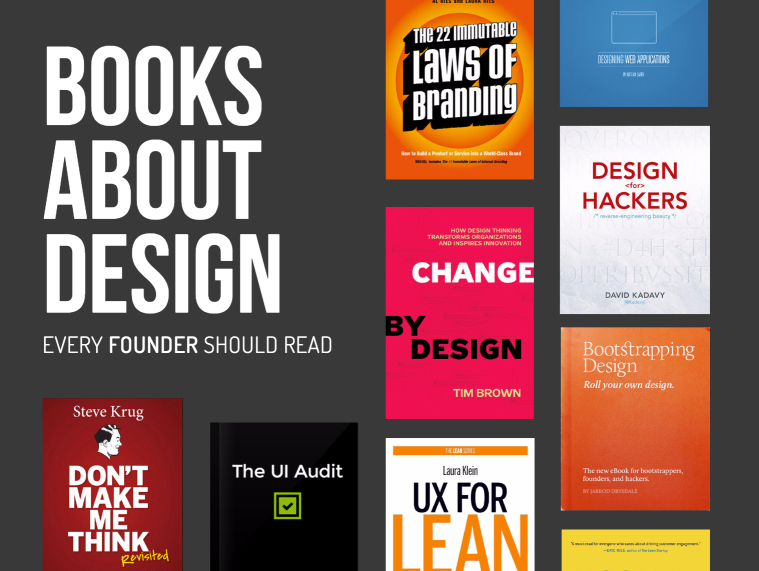 A Free Ebook Curating A Small Collection Of Recommended Design Books By Heidi Pungartnikowner Of Design For Founders Ht Book Design Learning Design Web Design