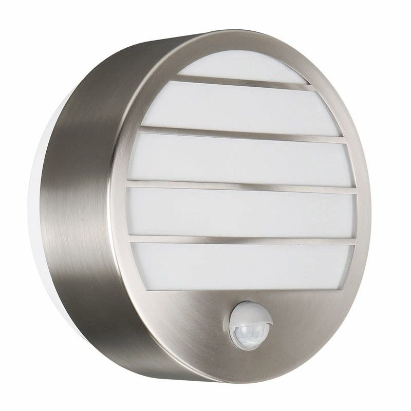 Massive linz stainless steel outdoor wall light with pir sensor massive linz stainless steel outdoor wall light with pir sensor mozeypictures Gallery