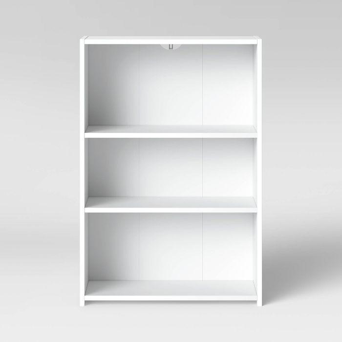 3 Shelf Bookcase Room Essentials 3 Shelf Bookcase White Bookcase White Bookshelves